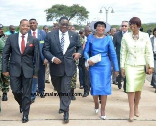 Mutharika Chilima cadet exchange Knives