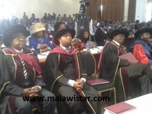 scholars during the inaugural lecture