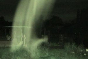 mysterious cloud mist of ghost manifestation