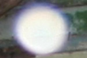 zoomed abandoned hospital ghost ecto ball