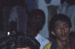 zoomed photo 2 of mysterious camp participants in bukit hijau