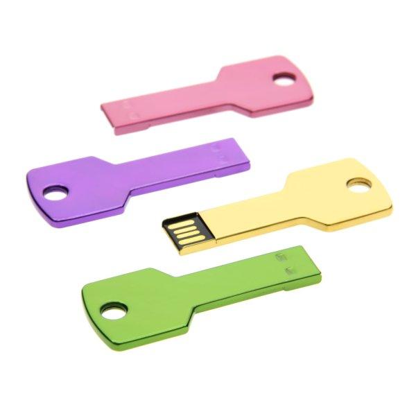 K003 Metal Key Shape USB Flash Drive