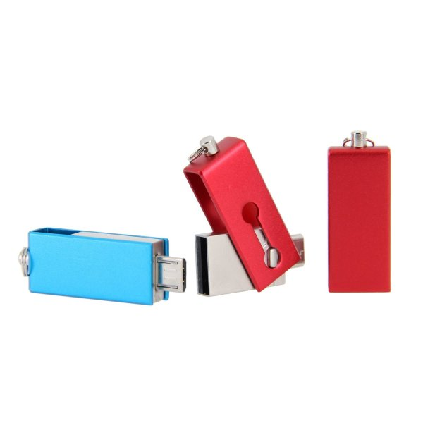 OT03 Mini OTG Swivel USB Flash Drive