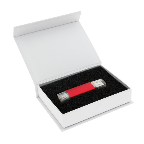 White Magnetic Gift Box Packaging