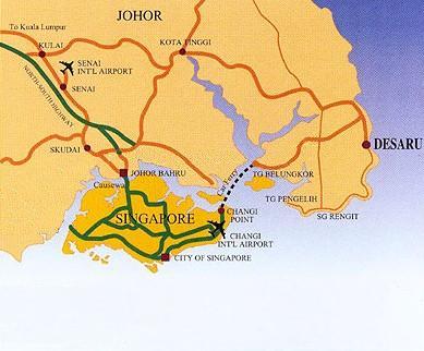 Desaru map