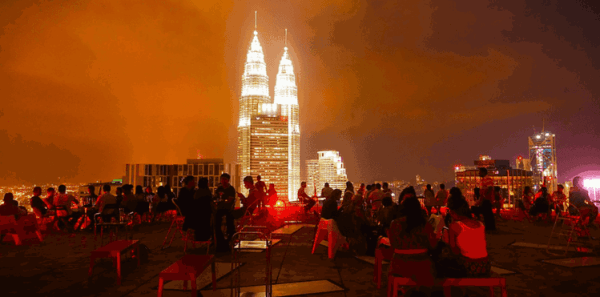 Rooftop Bars in KL, Malaysia