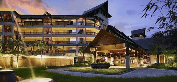 Shangri La's Rasa Ria Resort & Spa, Borneo