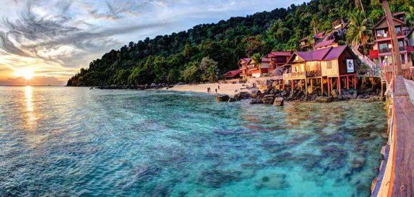 Tioman island in malaysia
