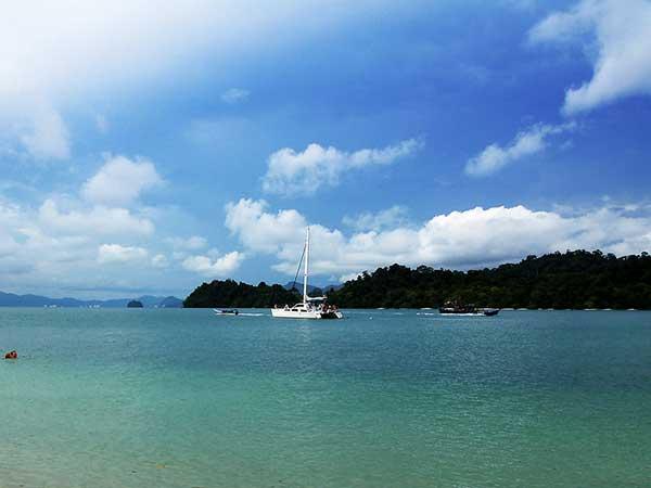 Langkawi Island in Malaysia