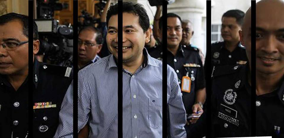 The PKR opposition lawmaker, Rafizi was sentenced to 18 months' jail for leaking a classified document on 1MDB audit.