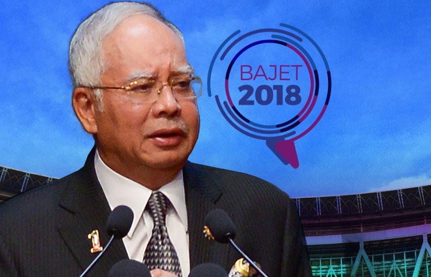 Prime Minister Najib Razak Bajet 2018