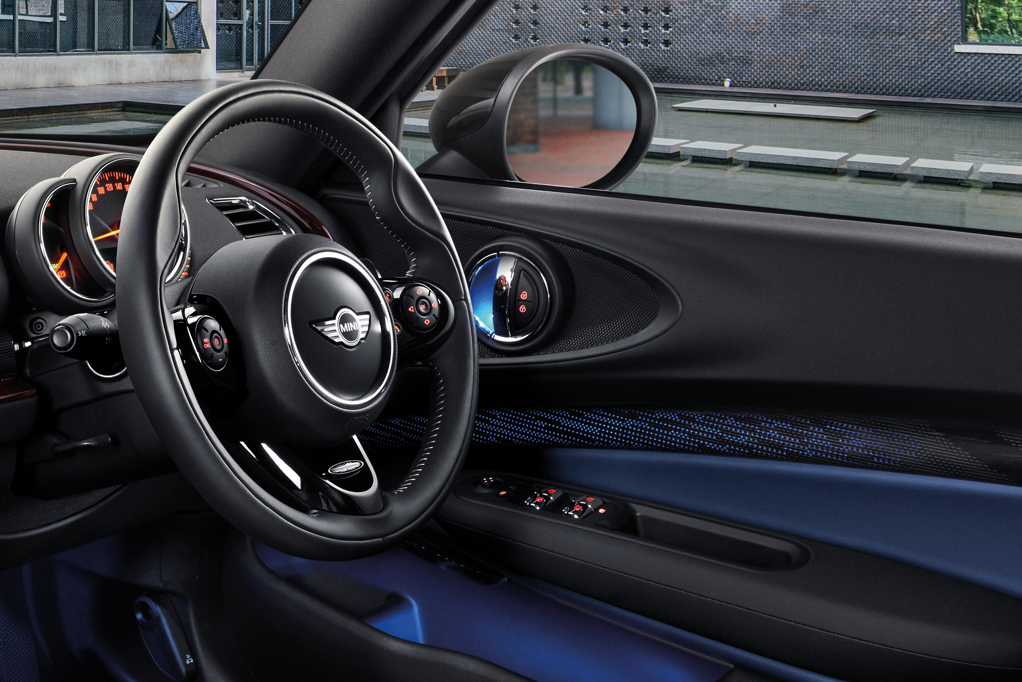 MINI Yours Leather Steering Wheel