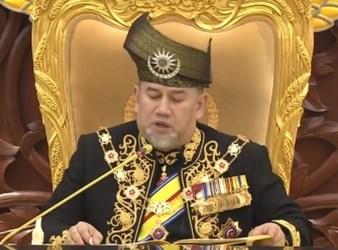 Yang di Pertuan Agong Sultan Muhammad the Fifth
