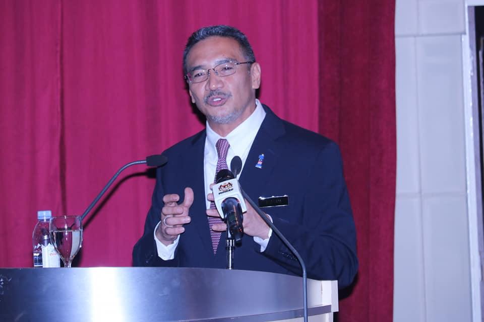 hishamuddin minister of defence Pic Mindef