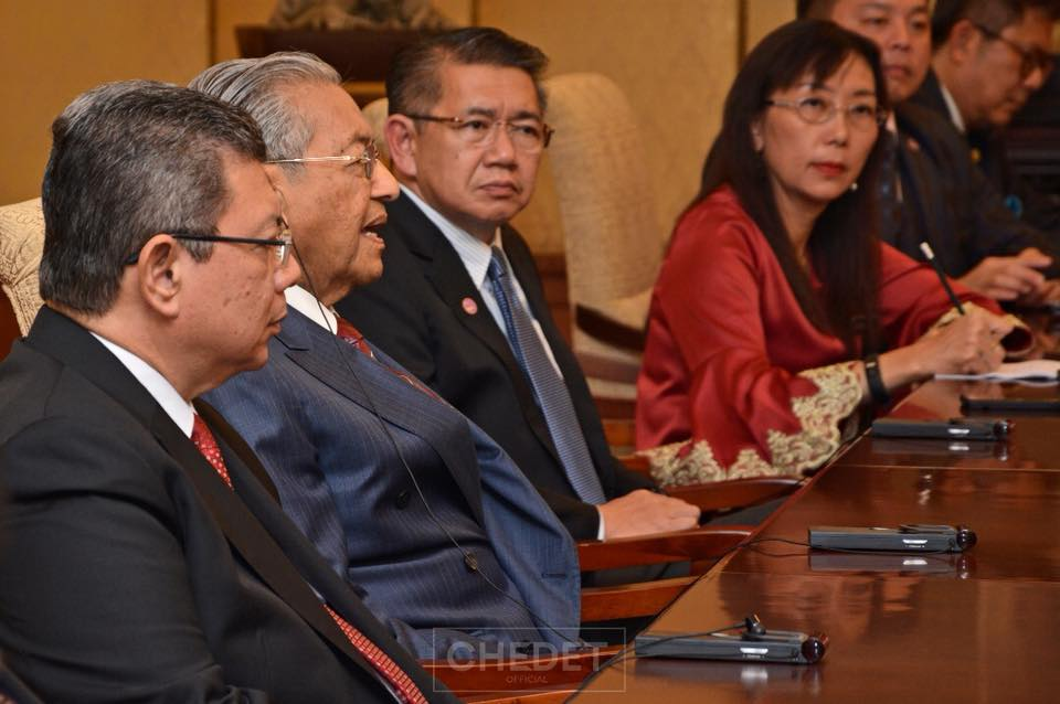 """Malaysia will pay a """"huge sum of money"""" as compensation to China as PM Dr M cancelling the already signed projects"""