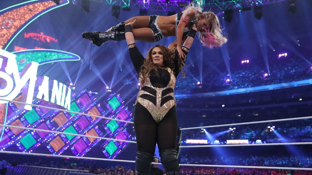 Nia Jax has the biggest physical presence of any female wrestler on the WWE roster Courtesy WWE