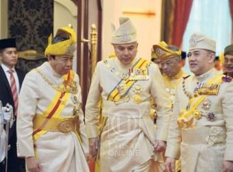 Deputy Yang di Pertuan Agong Sultan Nazrin Muizzuddin Shah