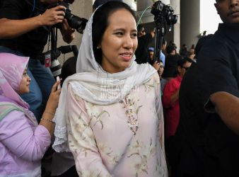 Former prime minister Najib Razaks daughter Nooryana Najwa Najib – Pic by The Malaysian Insight