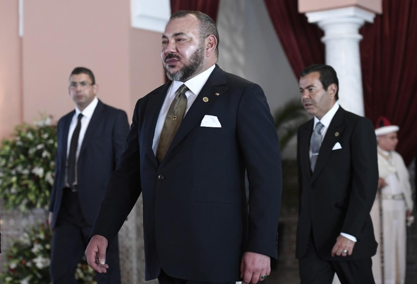 King Mohammed VI of Morocco Pic by AFP