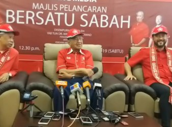 dr Mahathir bersatu sarawak