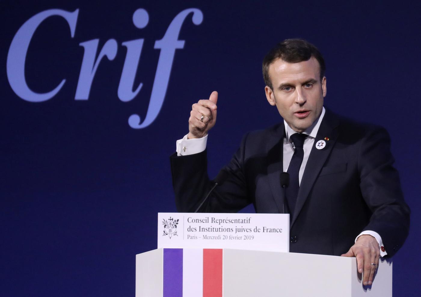 Macron Reuters