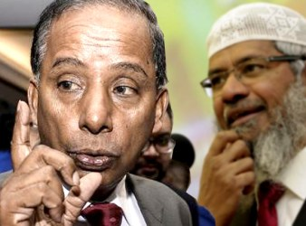Muslim preacher Dr Zakir should not be allowed to stay here in Malaysia says Human Resources Minister