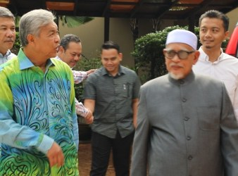 zahid hamidi and hadi pas