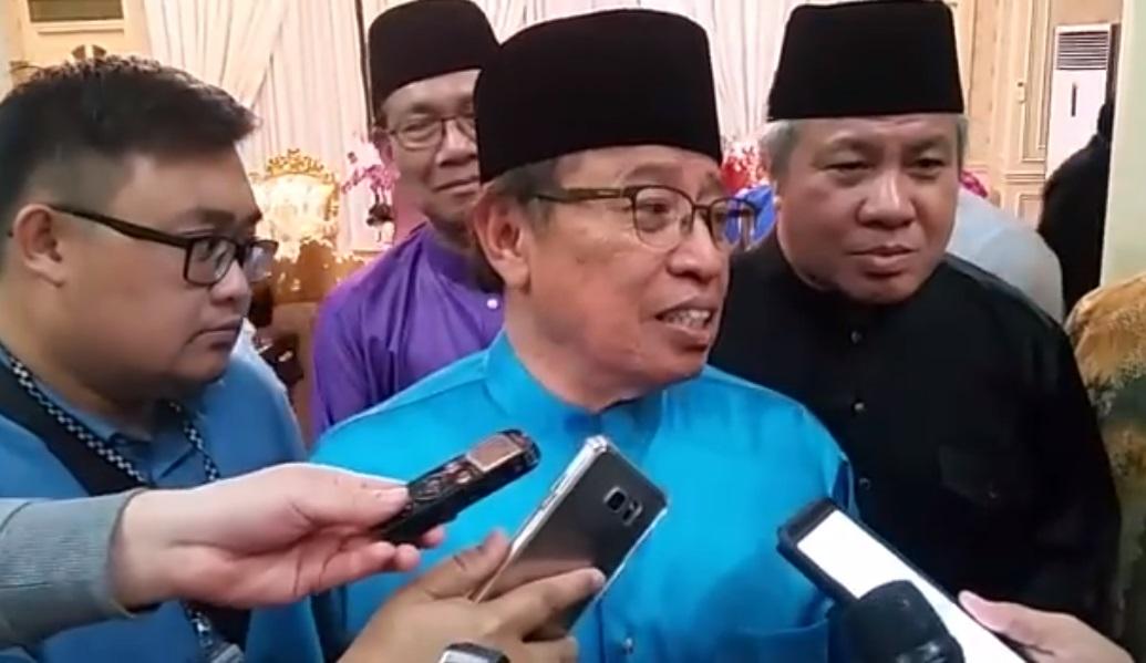 Chief Minister Datuk Patinggi Abang Johari Tun Openg