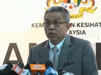 Minister of Health Datuk Seri Dr. Adham Baba