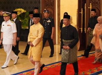 muhiddyin yassin and malaysia king