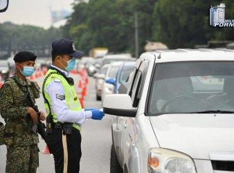 police diraja malaysia compound mco 1