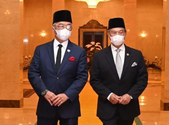 agong and muhyddin
