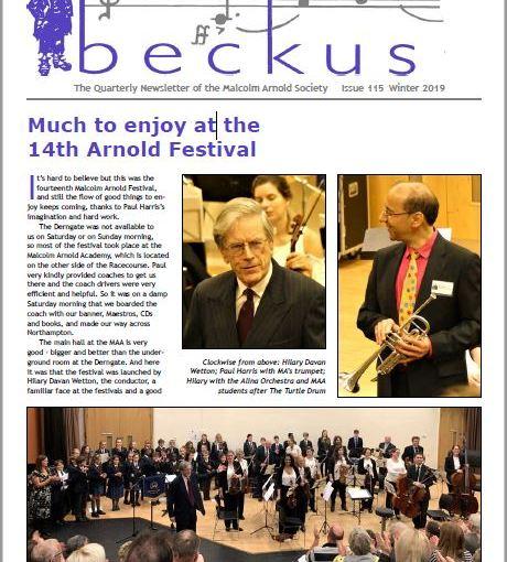 Beckus115 Malcolm Arnold Society