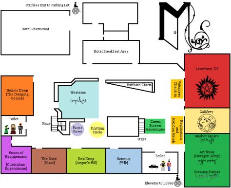2015 Ramada MALCon Map-small