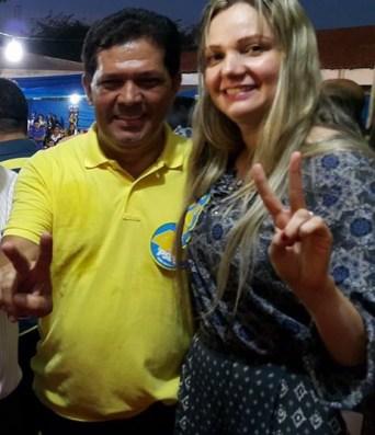 Fernando Maria ao lado de Araujo Diniz