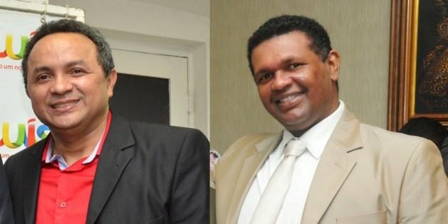 Secretário Marlon Botão e o Diretor Geral da CMSL, Itamilson Lima.