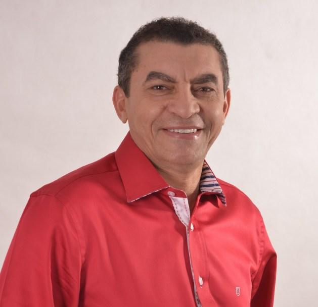 Prefeito do município de Pirapemas, Iomar Salvador Melo Martins.