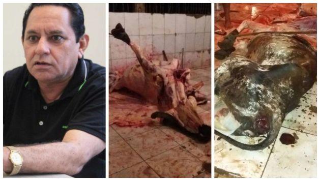 Prefeito Umbelino Ribeiro e o caos no matadouro público.