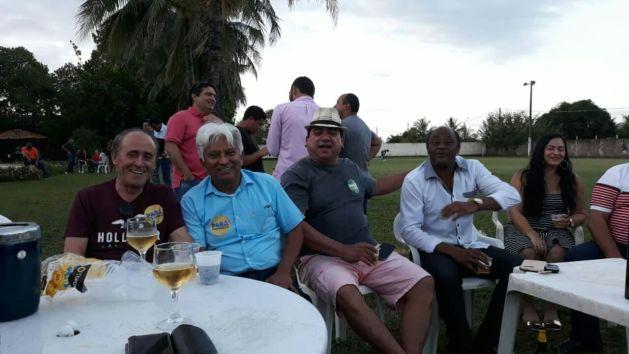 Da esquerda para direita, Zequinha Soares, Tonho Figueiredo, Amarildo Pinheiro e Júnior de Fabrício.