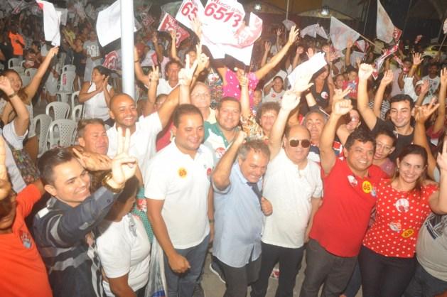 Astro reúne lideranças em prol das candidaturas de Hélio Soares e Marcio Jerry.