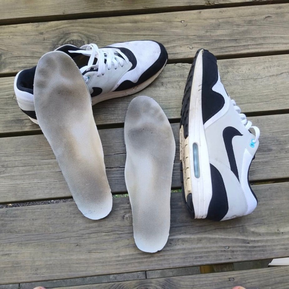 Dirty size 14 Nike Air Max 1 insoles