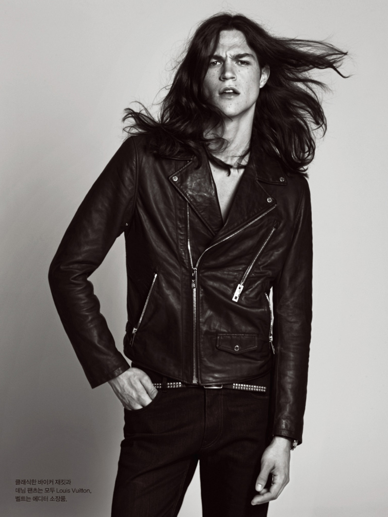 Miles McMillan For Harpers Bazaar Man Korea