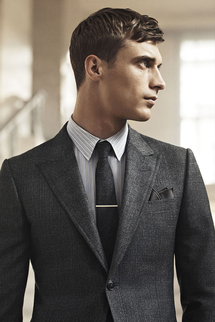 Clement Chabernaud For Gucci Mens Tailoring