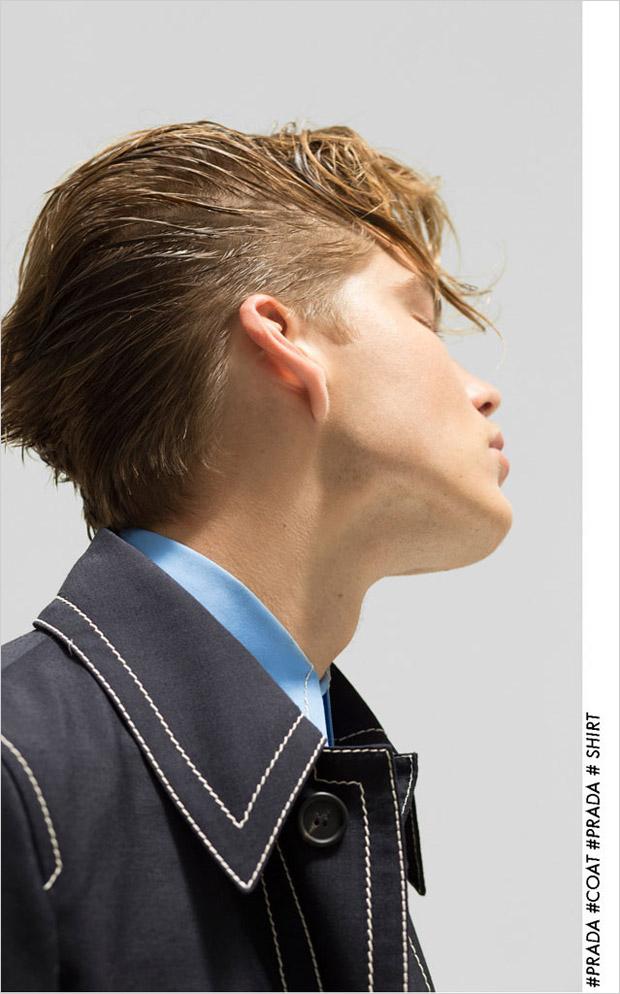 Jordan Barrett For Virtual Man By Bowen Arico