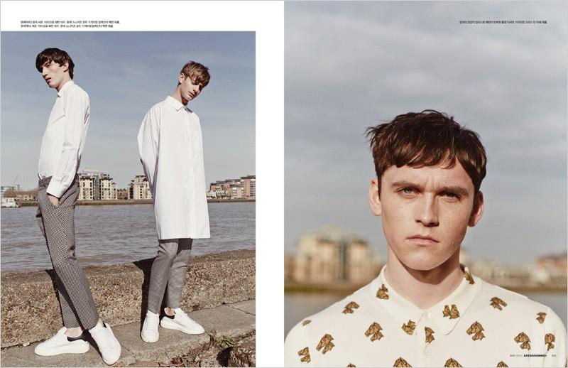 Sunshine By Rokas Darulis For Arena Homme Plus Korea