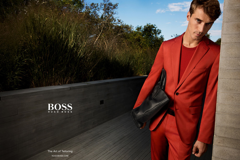 Supermodel Clement Chabernaud For Hugo Boss Spring Summer 2016