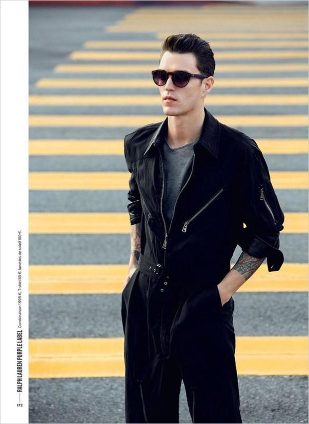 Supermodel Josh Beech For GQ France For Doug Inglish