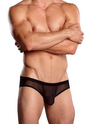 Euro Male Mesh Shirred Pouch Manty