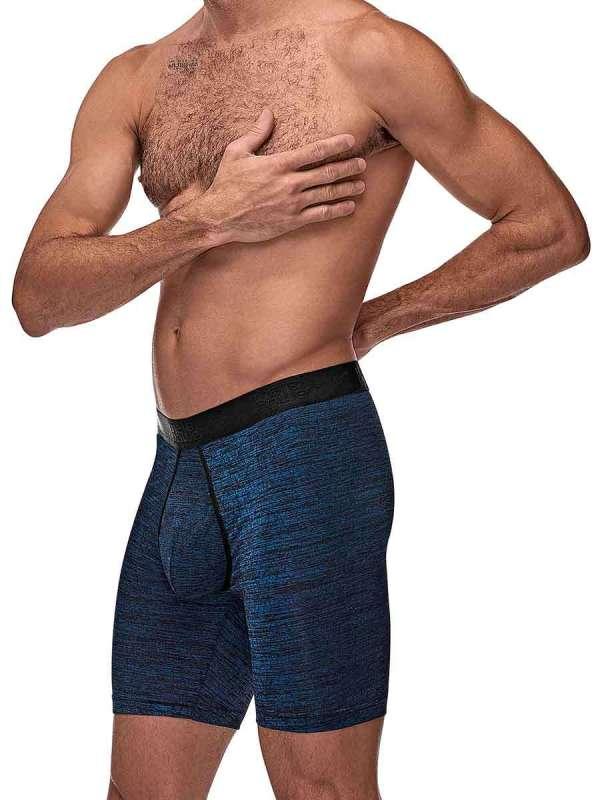 mens workout navy underwear boxer brief