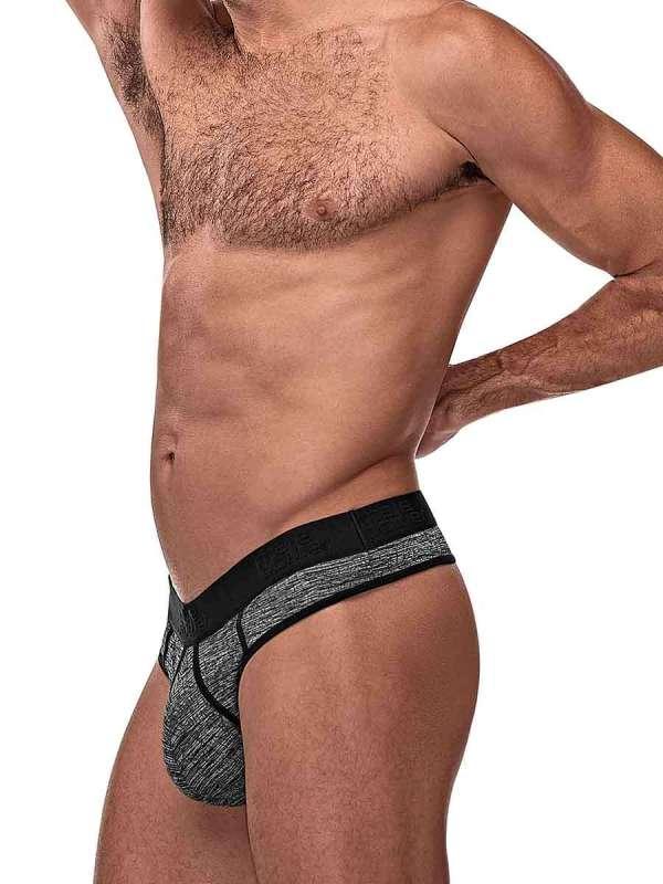 mens sexy underwear grey workout thong